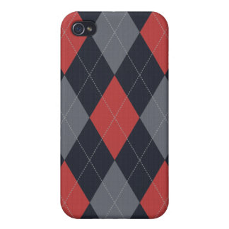 Knitted Argyle Iphone Case iPhone 4 Cases