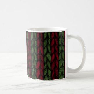 Knitted Christmas Mug