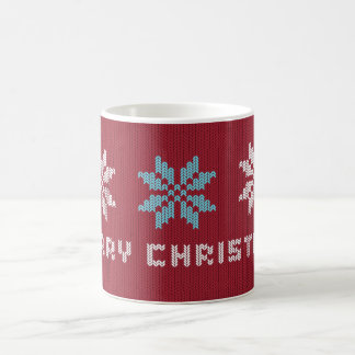 Knitted Christmas Sweater Inspired Mug