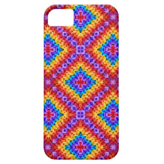 Knitted clolorful pattern iPhone 5 case
