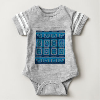 Knitted Decorative Background2 Baby Bodysuit