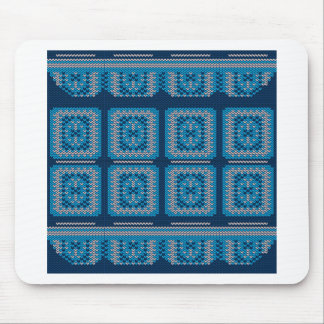 Knitted Decorative Background2 Mouse Pad