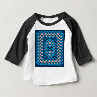 Knitted Decorative Background Baby T-Shirt