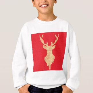 Knitted Deer Sweatshirt
