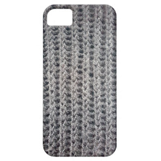 Knitted grey pattern iPhone 5 covers