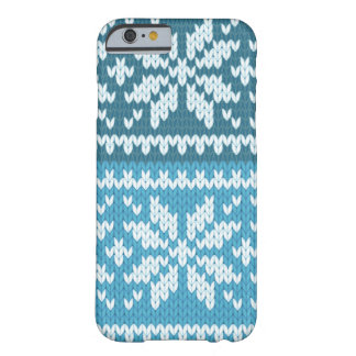 Knitted pattern barely there iPhone 6 case