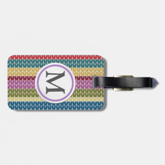 Knitted Style Luggage Tag