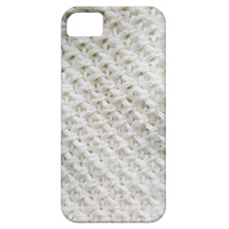 Knitted white pattern iPhone 5 case