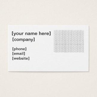 Knitter Business Card