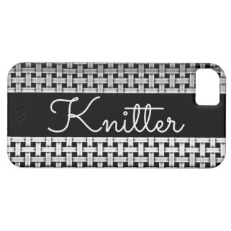 Knitter Chrome Pattern iPhone 5 Covers