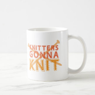 Knitters gonna knit (with knitting needles) mugs