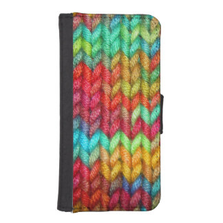 Knitters Yarn iPhone SE/5/5s Wallet Case