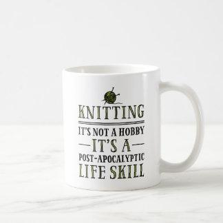 Knitting: A Post-Apocalyptic Life Skill Mugs
