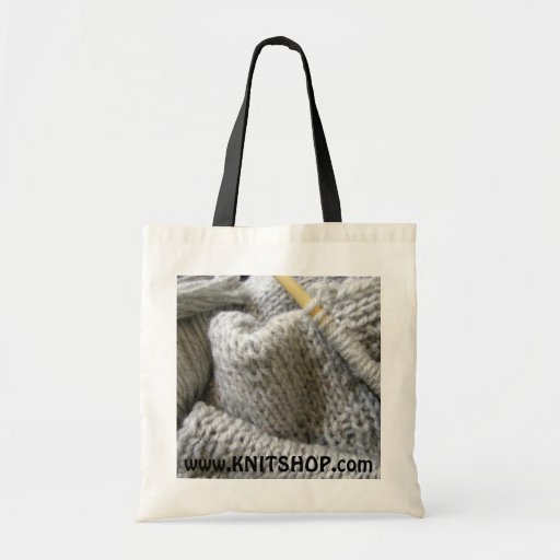 Knitting/ Budget Tote Bag