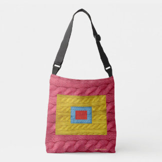 Knitting Crossbody Bag
