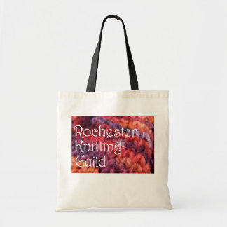 Knitting Guild Bag with snowflake