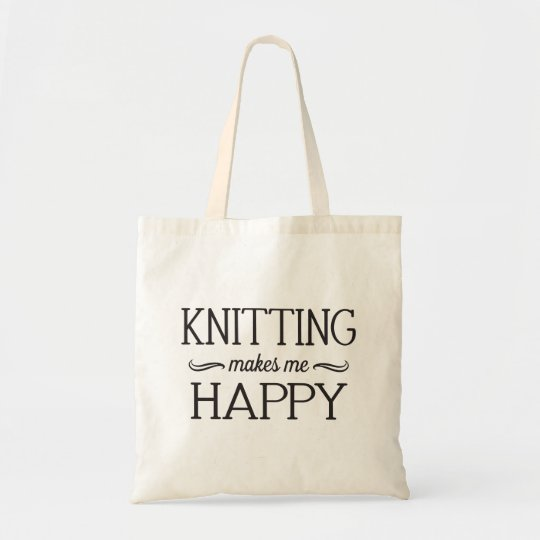 Knitting Happy Bag - Assorted Styles & Colours