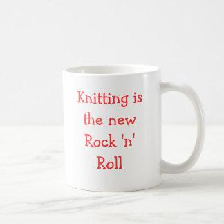 Knitting is the new Rock 'n' Roll Coffee Mug