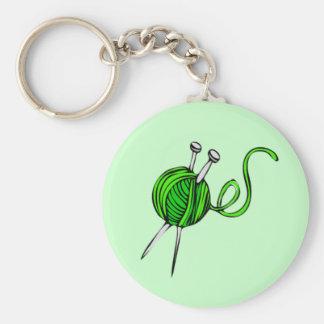 Knitting Keychain