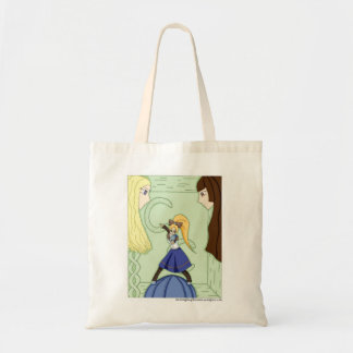 Knitting Knights Skein 1 cover Tote Bag