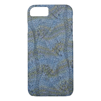 Knitting leaf lace sock for iPhone iPhone 7 Case
