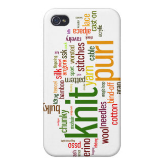 Knitting Lexicon - words for knitters Knit On iPhone 4 Covers