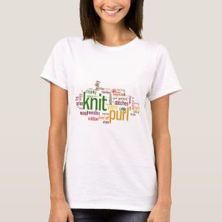 Knitting Lexicon - words for knitters!  Knit On! T-Shirt