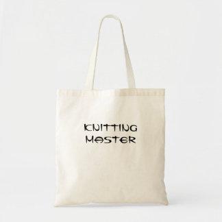 Knitting Master Budget Tote Bag