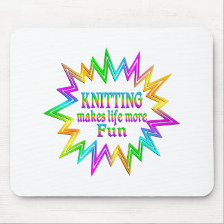 Knitting More Fun Mouse Pad