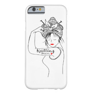 knitting power barely there iPhone 6 case