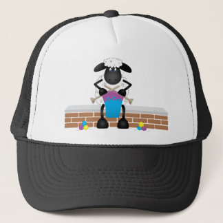 Knitting Sheep For Ewe Trucker Hat