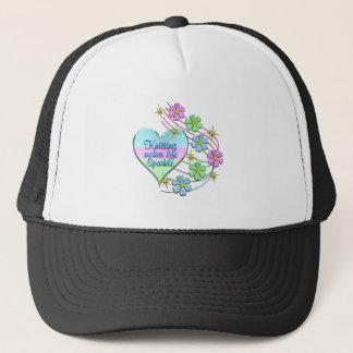 Knitting Sparkles Trucker Hat