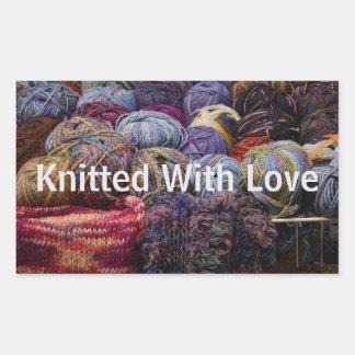 Knitting Stickers