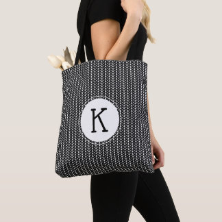 Knitting Stockinette Stitch Crafts Tote Bag