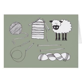 Knitting Stuff Card