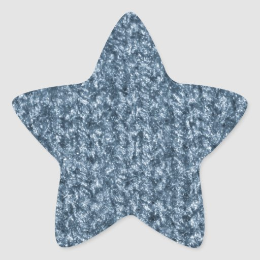 Knitting Texture of Blue-Gray Colored Yarn Stickers