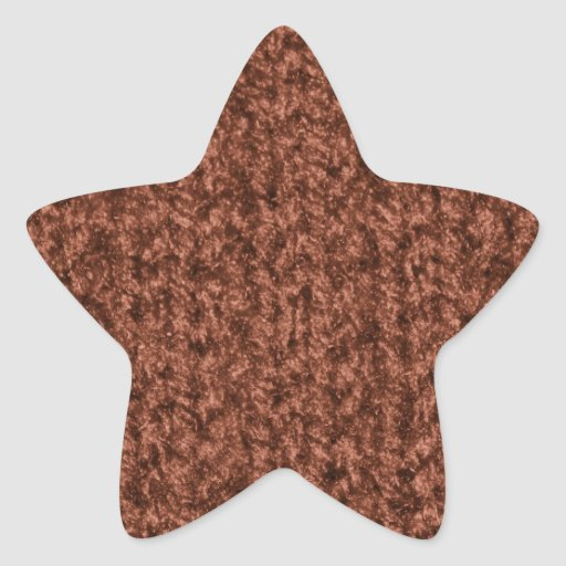 Knitting Texture of Chocolate Brown Colored Yarn Sticker