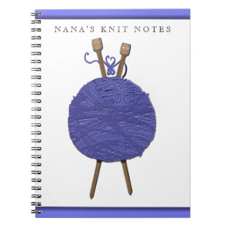 knitting-themed gifts notebooks