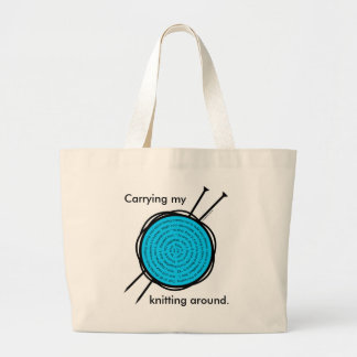 Knitting Tote for all of your knitting supplies.