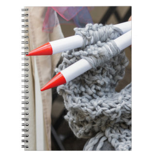 knitting workwoman note book