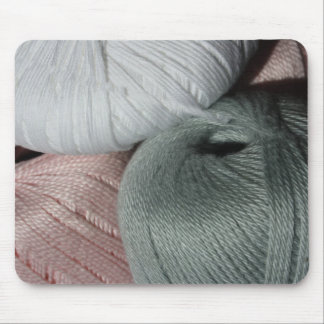 Knitting Yarn/Wool Mouse Pad
