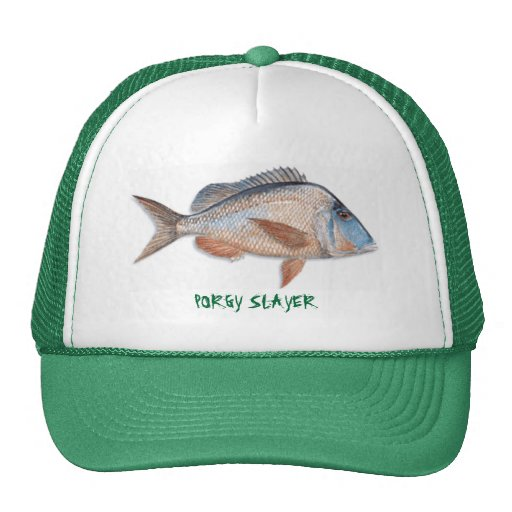 knobbedporgy, PORGY SLAYER Mesh Hat