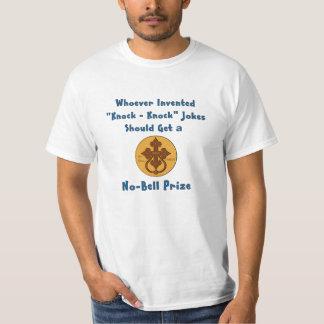 Knock Knock Joke No Bell Prize T-Shirt