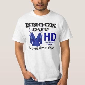 Knock Out Huntington's Disease HD Awareness T-Shirt