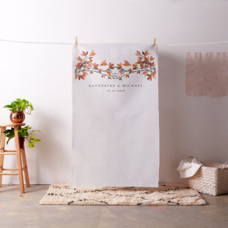 Knotted Love Trees Wedding Photo Backdrop Cloth Fabric
