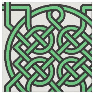 Knotty Minty Green Fabric