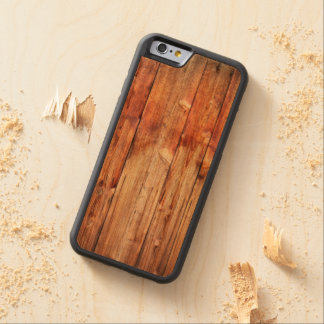 Knotty pine carved cherry iPhone 6 bumper case