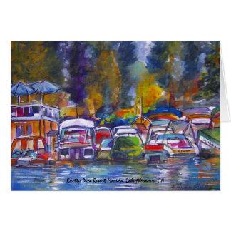 Knotty Pine Resort Marina... Card