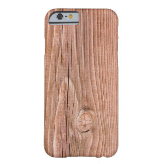 Knotty Slightly  Weathered Wood Grain Barely There iPhone 6 Case