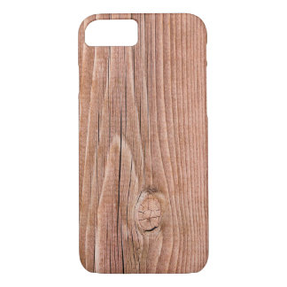 Knotty Slightly  Weathered Wood Grain iPhone 7 Case